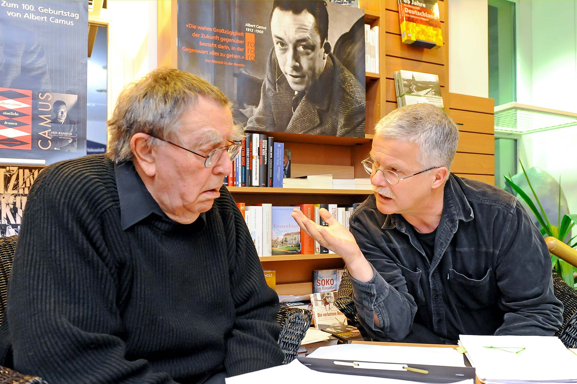 Pasch halb acht - Albert R. Pasch und Christian Latour