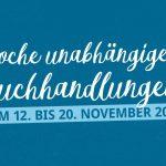 Logo Woche unabhängiger Buchhandlungen 2016