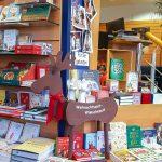 Adventsstimmung in der Buchhandlung Lohmann