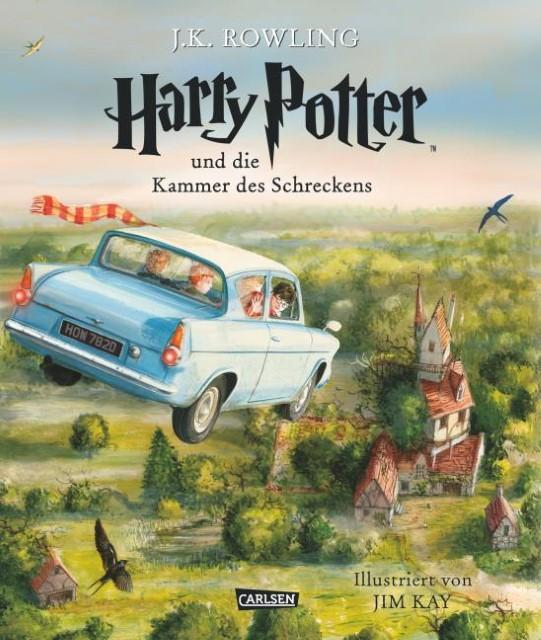 J. K. Rowling: Harry Potter und die Kammer des Schreckens, illustriert