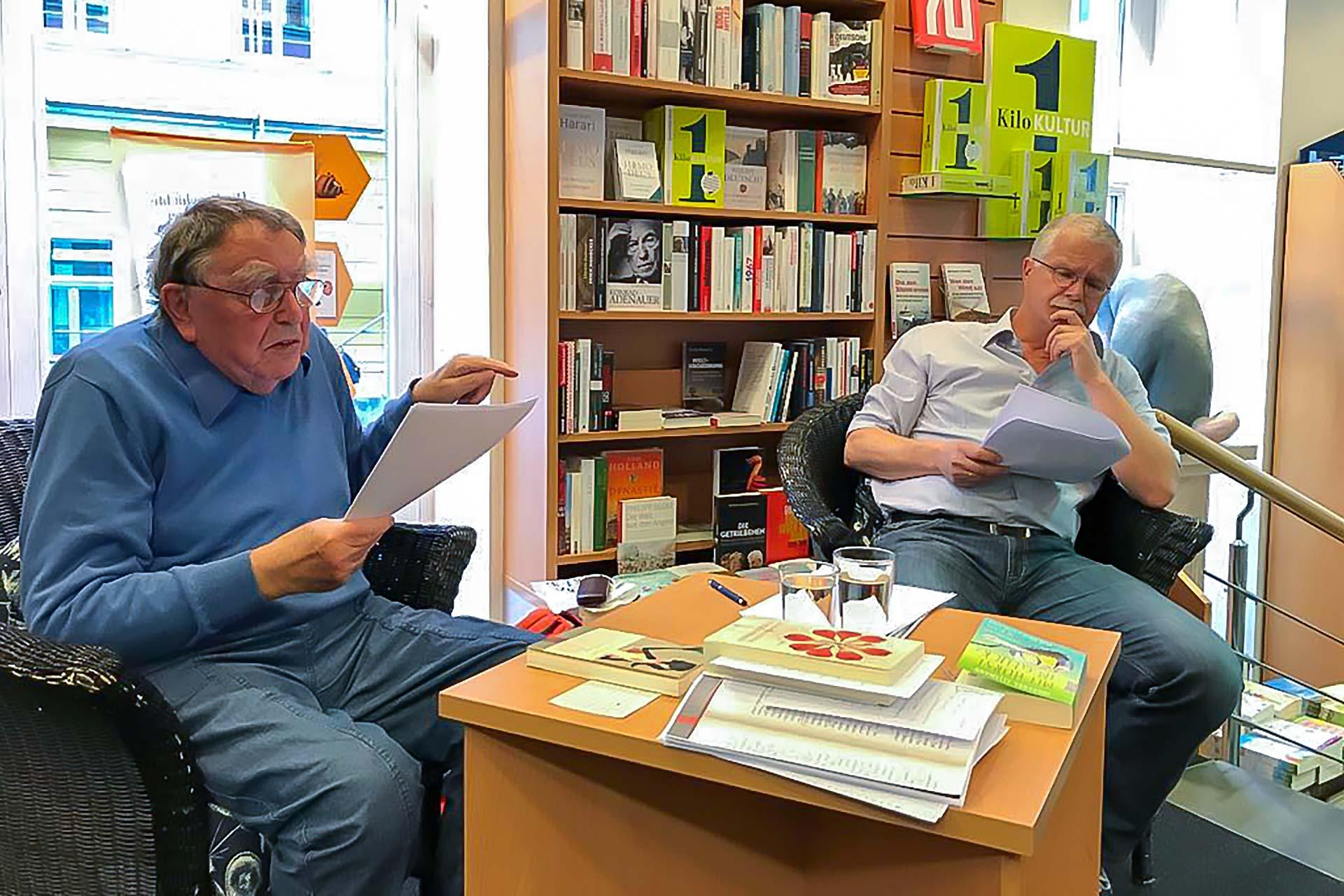 """Meine wunderbare Buchhandlung - """"Pasch halb acht"""" am 11.05.2017"""