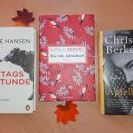 Viel Lesenswertes im Bücherherbst