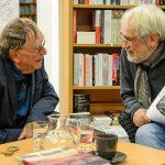 """""""Theater muss sein"""" – Siggi Seuß zu Gast bei Albert R. Pasch in der Buchhandlung Lohmann"""